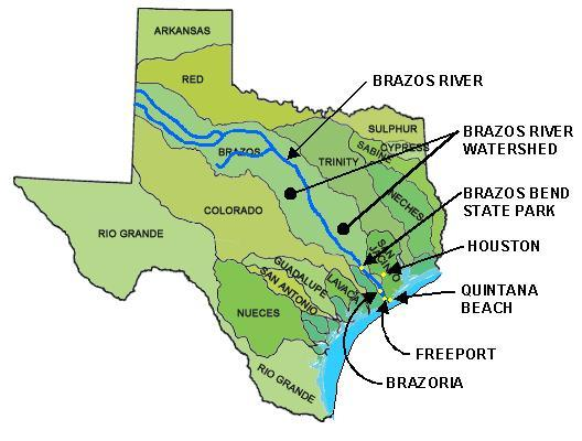 Brazos River Watershed Map Images Amp Pictures  Becuo